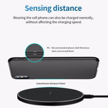 Load image into Gallery viewer, FDGAO 10W Fast Wireless Charger For Samsung S10 S20 S9 Note 10 9 USB Qi Charging Pad for iPhone SE 11 XS XR X 8 Plus Airpods Pro