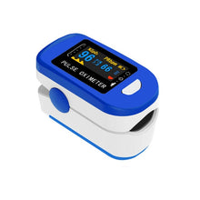 Load image into Gallery viewer, Finger Oximeter Digital Fingertip Pulse Oximeter Blood Oxygen Saturation Meter Finger SPO2 PR Heart Rate Monitor Health Care