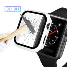 Load image into Gallery viewer, Glass+case For Apple Watch serie 6 5 4 3 SE 44mm 40mm iWatch Case 42mm 38mm bumper Screen Protector+cover apple watch Accessorie