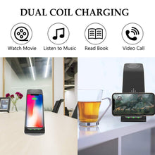 Load image into Gallery viewer, 3 In 1 Wireless Charger 10W Fast Charge For Iphone 11 Pro SE2 Charger Dock For Apple Watch Airpods Pro Wireless Charge Stand