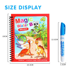 Load image into Gallery viewer, 8 Types Montessori Toys Reusable Coloring Book Magic Water Drawing Book Sensory Early Education Toys For Kids Birthday Gift