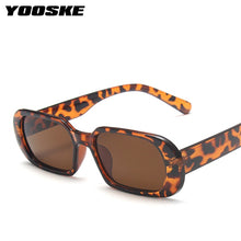 Load image into Gallery viewer, YOOSKE Brand Small Sunglasses Women Fashion Oval Sun Glasses Men Vintage Green Red Eyewear Ladies Traveling Style UV400 Goggles