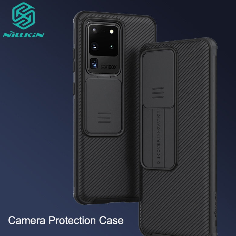 Camera Protection Case For Samsung Galaxy S20 /Plus /Ultra NILLKIN Slide Protect Cover Lens Protection Case For Samsung Note 20