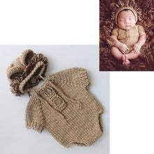 Load image into Gallery viewer, Crothet Newborn Photography Props Knitted Photography Accessories Baby Boys Girls Costume Newborn Photographie 42 Model Optional