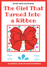 Load image into Gallery viewer, The Girl that Turned into a Ribbon by Martyn Kenneth