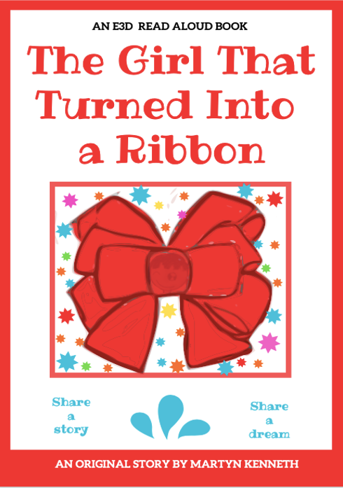 The Girl that Turned into a Ribbon by Martyn Kenneth