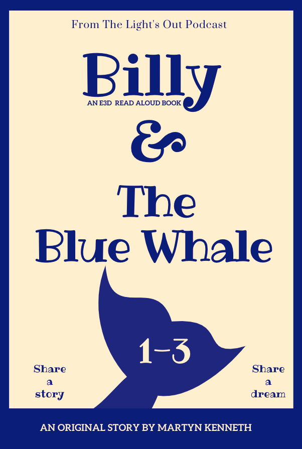 Billy and The Blue Whale By Martyn Kenneth - 2021 books giveaway for 2021