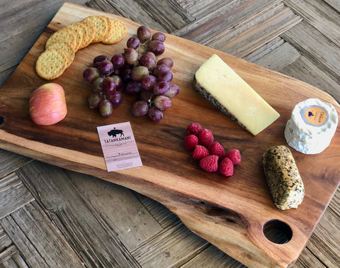 Black Acacia Charcuterie and Cutting Board