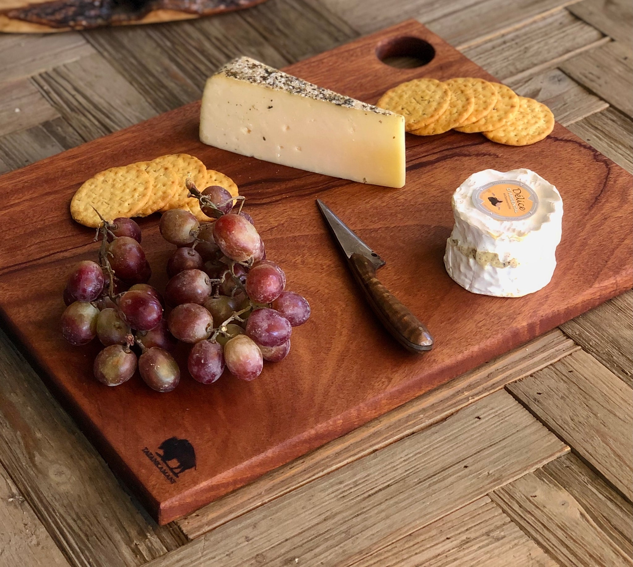 Mahogany Charcuterie and Cutting Board