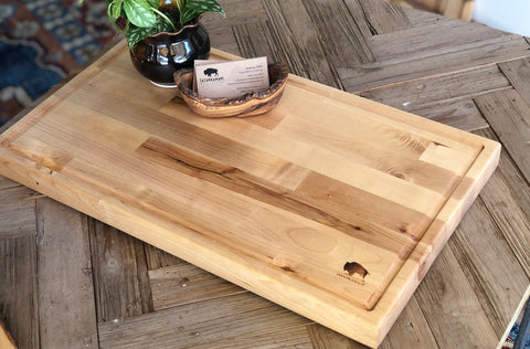 Maple Butcher Block with Blood Groove