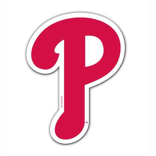 Philadelphia Phillies Magnet Car Style 12 Inch P Logo