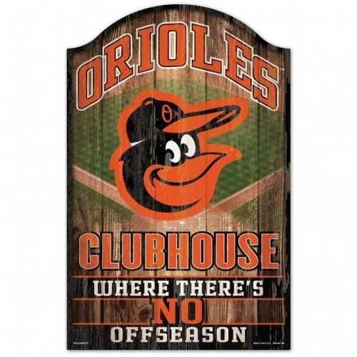 Baltimore Orioles Sign 11x17 Wood Fan Cave Design Special Order