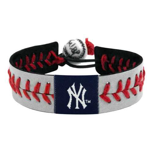 New York Yankees Bracelet Reflective Baseball