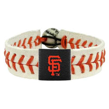 Load image into Gallery viewer, San Francisco Giants Bracelet Genuine Baseball
