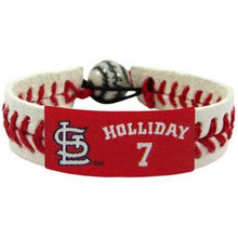 Load image into Gallery viewer, St. Louis Cardinals Bracelet Classic Baseball Matt Holiday