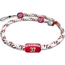 Load image into Gallery viewer, Washington Nationals Necklace Frozen Rope Classic Baseball Stephen Strasburg