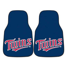 Load image into Gallery viewer, Minnesota Twins Car Mats Printed Carpet 2 Piece Set Special Order