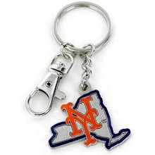 Load image into Gallery viewer, New York Mets Keychain State Design Special Order