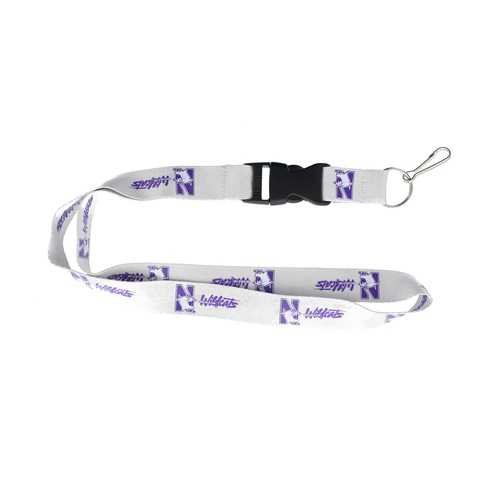Northwestern Wildcats Lanyard - Grey