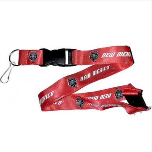 New Mexico Lobos Lanyard - Red Special Order