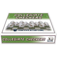 Load image into Gallery viewer, Penn State Nittany Lions Checker Set
