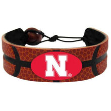 Load image into Gallery viewer, Nebraska Cornhuskers Bracelet - Classic Basketball