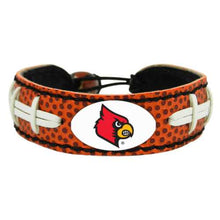 Load image into Gallery viewer, Louisville Cardinals Classic Football Bracelet