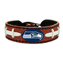 Load image into Gallery viewer, Seattle Seahawks Classic Football Bracelet