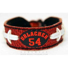 Load image into Gallery viewer, Chicago Bears Bracelet Classic Jersey Brian Urlacher Design
