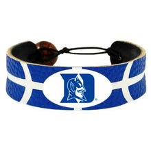 Load image into Gallery viewer, Duke Blue Devils Bracelet Team Color Basketball