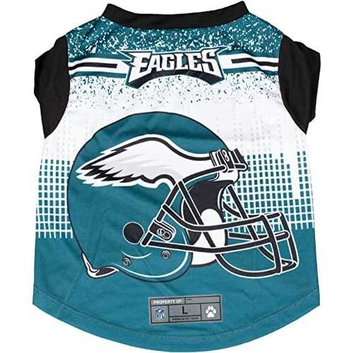 Philadelphia Eagles Pet Performance Tee Shirt Size L