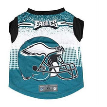 Load image into Gallery viewer, Philadelphia Eagles Pet Performance Tee Shirt Size M