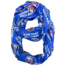 Load image into Gallery viewer, New York Islanders Scarf Infinity Style Special Order