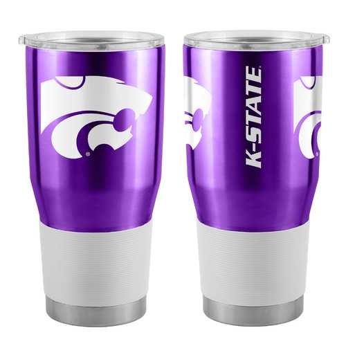 Kansas State Wildcats Travel Tumbler 30oz Ultra Purple Special Order