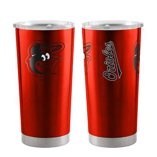 Baltimore Orioles Travel Tumbler 20oz Ultra Orange Special Order