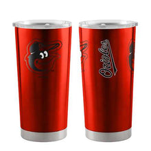 Load image into Gallery viewer, Baltimore Orioles Travel Tumbler 20oz Ultra Orange Special Order