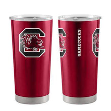 Load image into Gallery viewer, South Carolina Gamecocks Travel Tumbler 20oz Ultra Burgundy Special Order