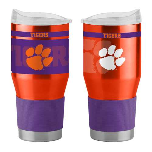 Clemson Tigers Travel Tumbler 24oz Ultra Twist Special Order
