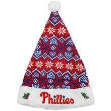 Load image into Gallery viewer, Philadelphia Phillies Knit Santa Hat - 2015