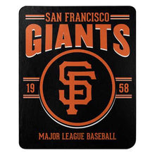 Load image into Gallery viewer, San Francisco Giants Blanket 50x60 Fleece Southpaw Design