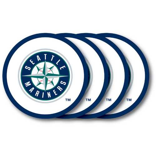 Seattle Mariners Coaster Set - 4 Pack Special Order
