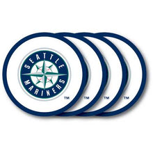 Load image into Gallery viewer, Seattle Mariners Coaster Set - 4 Pack Special Order