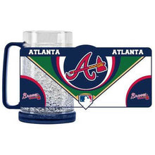 Load image into Gallery viewer, Atlanta Braves Mug Crystal Freezer Style Special Order
