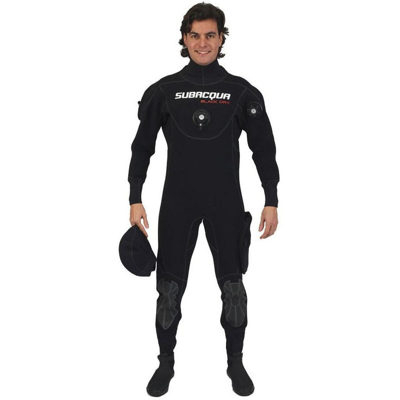 Tørdragt Subacqua Black Dry - Scubadirect
