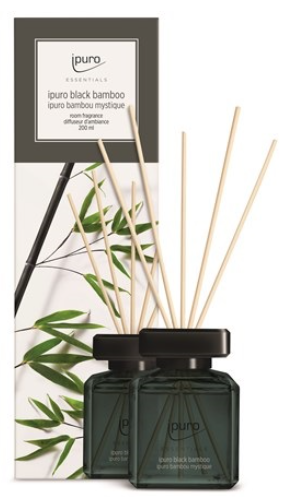Geurstokjes Essentials Black Bamboo