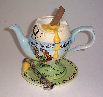 Egg Cup Teapot  large