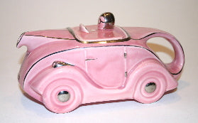 Racing car Sadler OKT42 Pink pink glaze