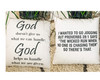God & Jogging Pillow Cover
