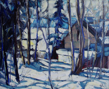 9th Avenue Trail SOLD - Halin de Repentigny - painting