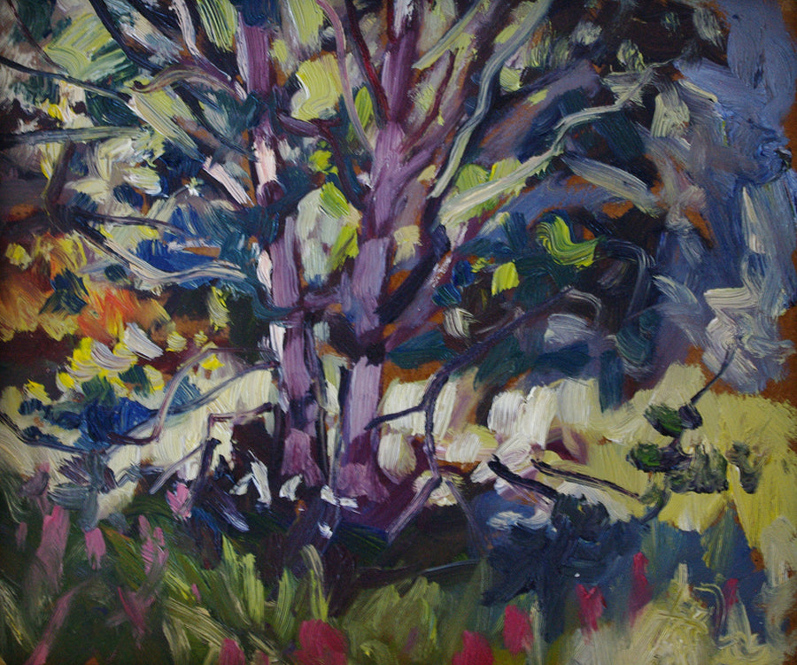 Birch SOLD - Halin de Repentigny - painting
